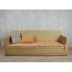 Sofa cuadrado esparto