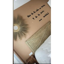 Cabecero de cama con cruz