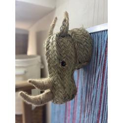 Cabeza de rinoceronte